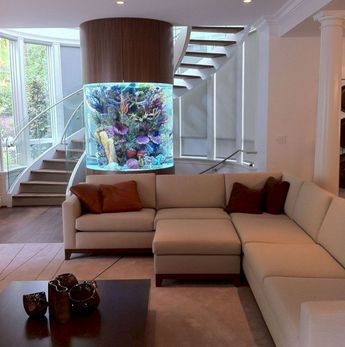 47 The Best Home Stairs Design Ideas With Aquarium
