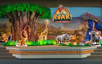 Check out Group's Main Stage concept for ROAR VBS! Explore more design ideas at Concordia Supply!