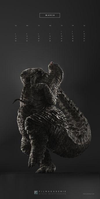 ArtStation - Creature Pinup, Christian Leitner