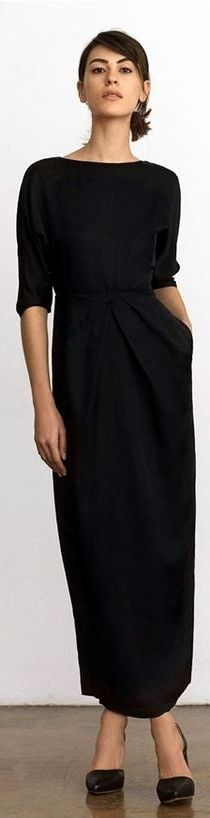 Minimal | Chic dress | Luvtolook | Curating fashion and style