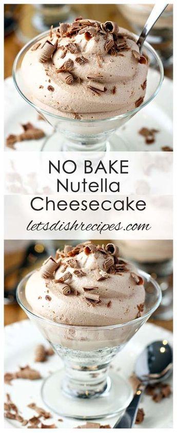 50 Nutella Dessert Recipes: Decadent Desserts