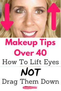 Beauty Over 40: Makeup Tips For Lifting Eyes - SheSpark