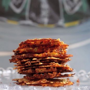 Carrot Chips With Zucchini And Parmesan