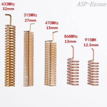 10pcs Helical Antenna 315MHz 470MHz 868MHz 433MHz 915MHz for Remote Control  | eBay