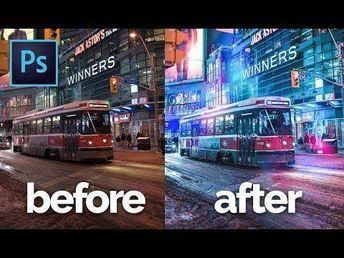How to Edit Like Brandon Woelfel in Photoshop CC   Color Grading Tutorial   With Asset Files - YouTube #PhotoshopArtwork