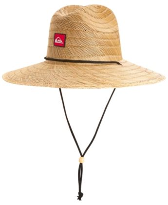 64ce9440159c1 Quiksilver Men s Pierside Lifeguard Hat - Tan Beige ...