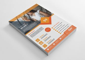 Perfect Corporate Business Flyer Design - Graphic Templates