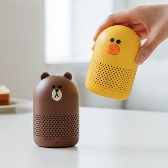 Friends Duo Wireless Speaker - LINE FRIENDS