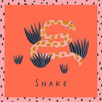 """Jennifer Bouron on Instagram: """"Day 19 - Snake"""""""