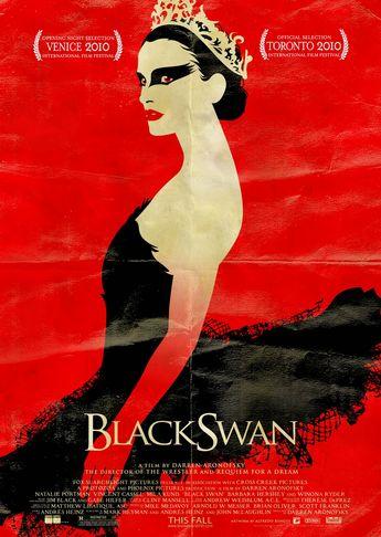 Black Swan movie poster.