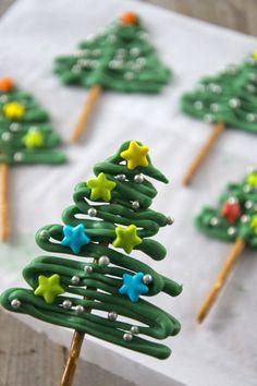 Snelle kerstboompjes