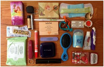 Emergency Kit For School! (For Girls) #Beauty #Trusper #Tip #makeupideasforschool
