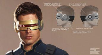 ArtStation - X-Men Cyclops Movie design, Stuart Cooper