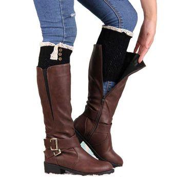 e4a80944f Alpine Boot Socks Tan Beige Thigh High Tie Top Tassels Thic