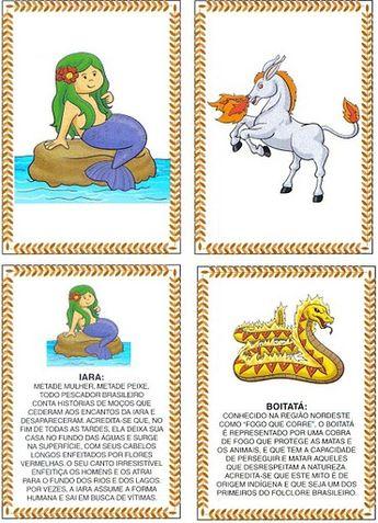 ESPAÇO EDUCAR: Jogo da Memória de Lendas do Folclore Brasileiro!