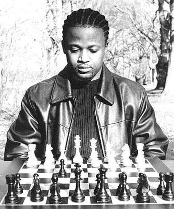 Chess Grandmaster, Maurice Ashley. 1986