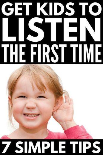 How to Get Kids to Listen: 7 Tips & Listening Activities for Kids