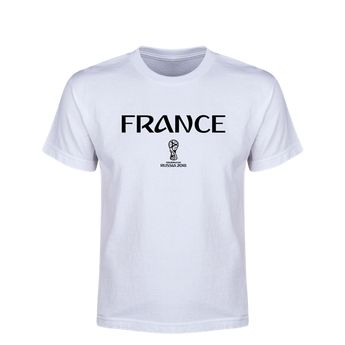 0c55fe0a2 France 2018 FIFA World Cup Russia™ Essential Youth T-Shirt (White) #