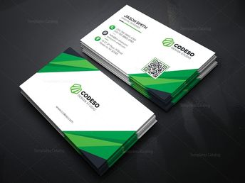 Technology Business Card with Modern Style - Graphic Templates
