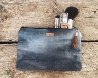 Makeup bag, boho beauty case, cosmetic bag, toilet bag, bohemian makeup bag, clutch purse , travel m