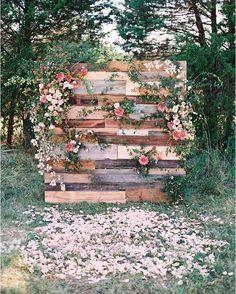 dreamy wedding backdrop