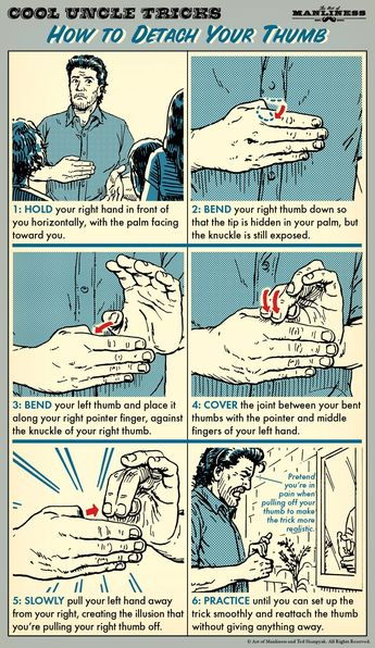How to Detach Your Thumb (Magic Trick)
