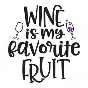 Silhouette Design Store: #wine is my favorite fruit