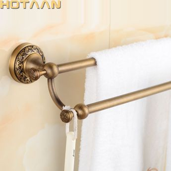 Bathroom Fixtures Towel Rings Space Aluminum Towel Ring Round Ou Shi Wei Yu Hang Bathroom Towel Rack Jie Sha Lang 2260