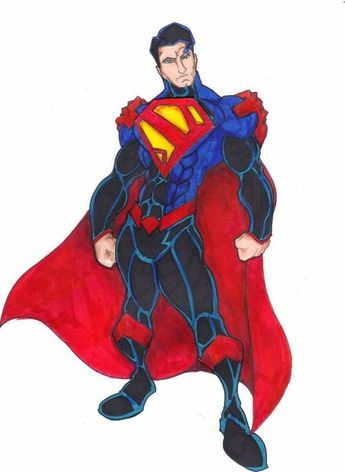 Superman Redesign 6 by FrischDVH on DeviantArt