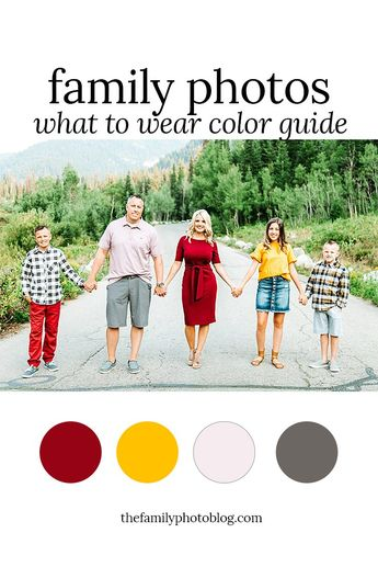 Favorite Fall Colors Outfit Guide – The Family Photo Blog