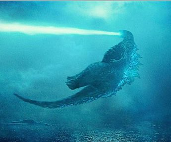 Godzilla funny old school flight
