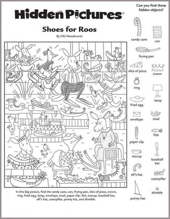 Hidden Pictures Worksheet Free. Also see the category to find ... Read more