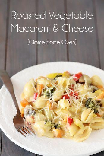 Roasted Vegetable Macaroni & Cheese