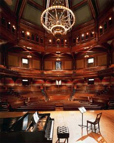 Sanders Theatre, Harvard University. I saw Suzanne Vega perform here in 2010.
