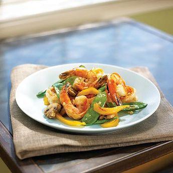 Shrimp Stir-Fry - South Beach Diet Recipes