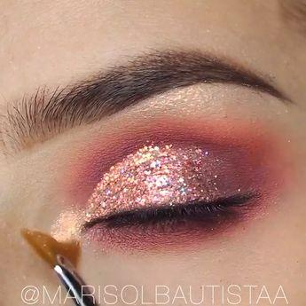 Easy Eye Makeup Tutorial! #eyemakeup #makeup #makeuptips #makeupideas #makeupoftheday #makeuptutorial