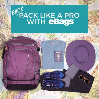 Travel Packing Tips: How to pack your backpack with the perfect travel-light essentials. Whether you're exploring the world for a month or a year, we've got the perfect bag PLUS what to put in it!