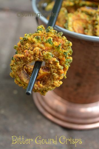 I am not a fan of bitter gourd from any angle for the obvious reason. I just used to manage eating kakarakaya podi that my mother prepar...