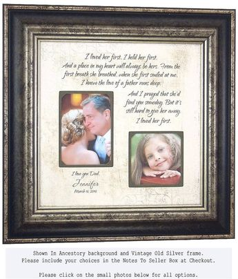 Mother Of The Bride Gift Wedding Gift for by PhotoFrameOri