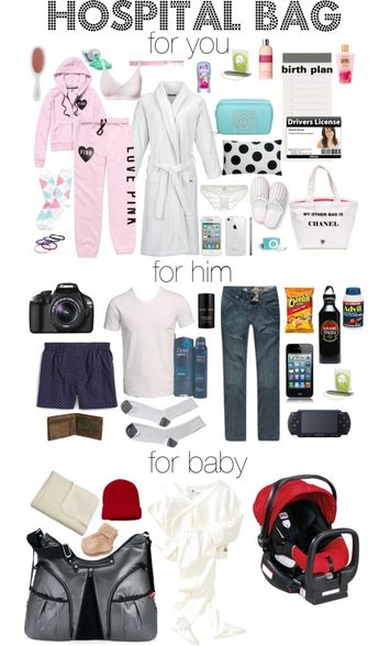 """Hospital Bag"" by hoshizuku on Polyvore by dorthy"