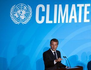 Macron diz que França é uma nação amazônica