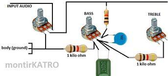 Tone Control sederhana tapi mampu menghasilkan audio HiFi   guruKATRO