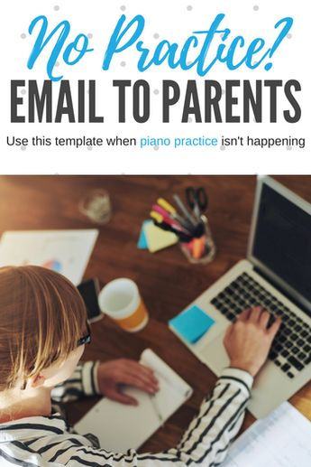 No practice happening at home? Use my email template!