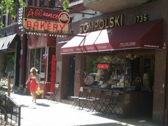 Alliance Bakery/Division St. if you are in Chicago check out this lovely small bakery.  best cupcakes!