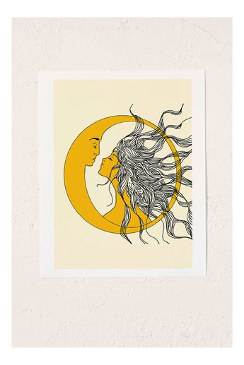 Nadja Sun And Moon Art Print