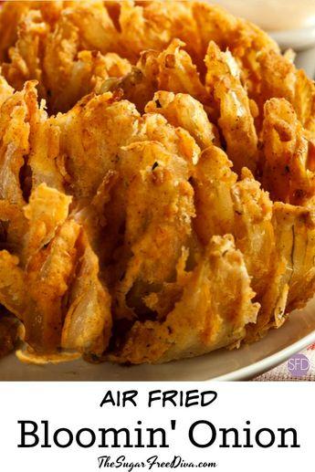 Air Fried Blooming Onion #airfried #airfryer #recipe #glutenfree #recipe #copycat