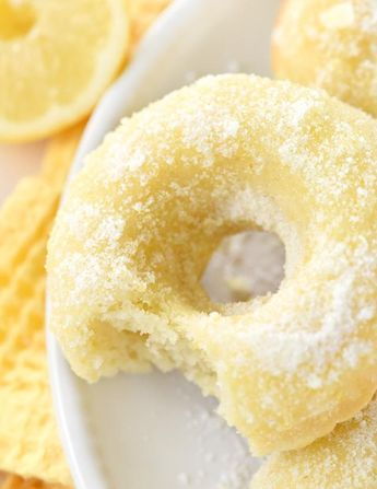 Lemon Sugar Baked Donuts the Perfect Sunny Treat for Breakfast or Dessert!