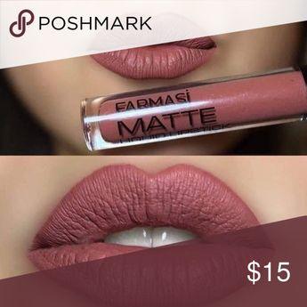 Farmasi matte liquid lipstick so-proof lip paint! Liquid lipstick perfect matte,smooth texture,long wear,non-transfer,high coverage with intense pigment content. Farmasi Makeup Lipstick