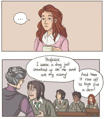 Oh.. Who would do that... (sarcasm mode on) #harrypotter #harryartter #artsypotter #artsyharrypotter