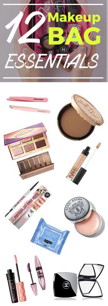 12 Makeup Bag Essentials